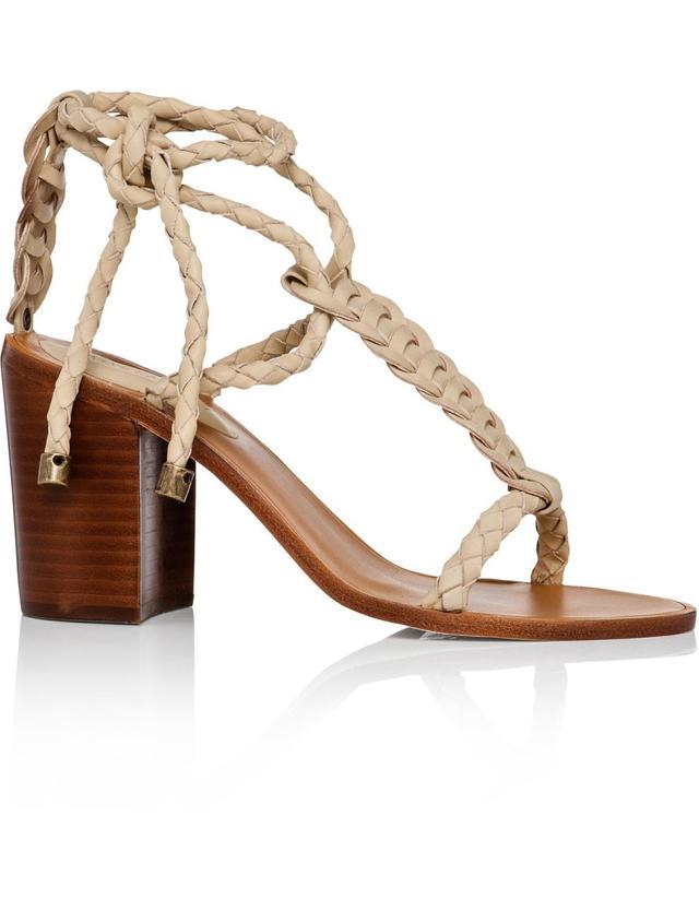 Zimmermann Link Weave Tie Heel