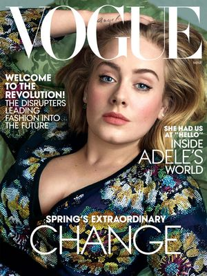Adele's New Vogue Cover Is Beyond Gorgeous