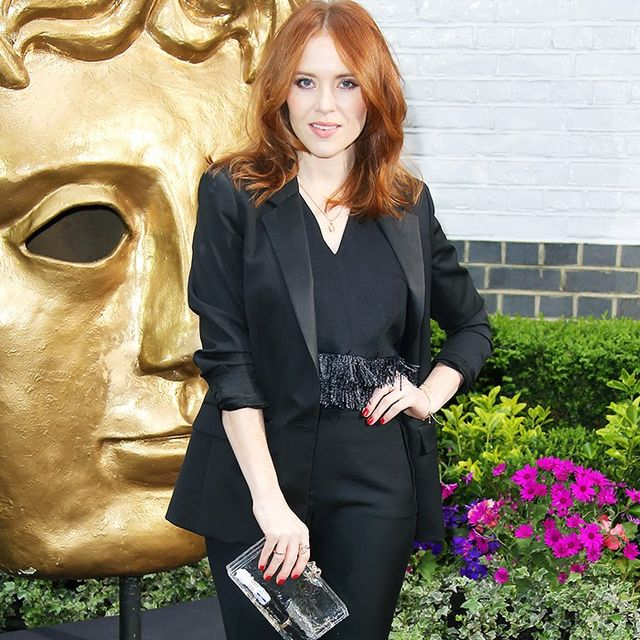 Angela Scanlon's Red Carpet Style Advice to Use in Real Life