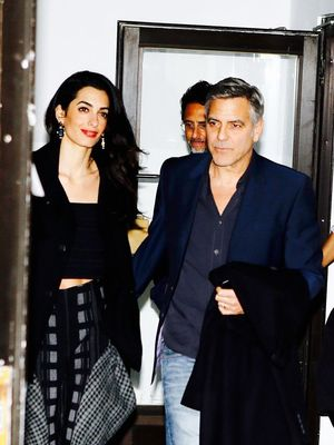 Amal Clooney Proves This Comfy Pants Trend Is Back