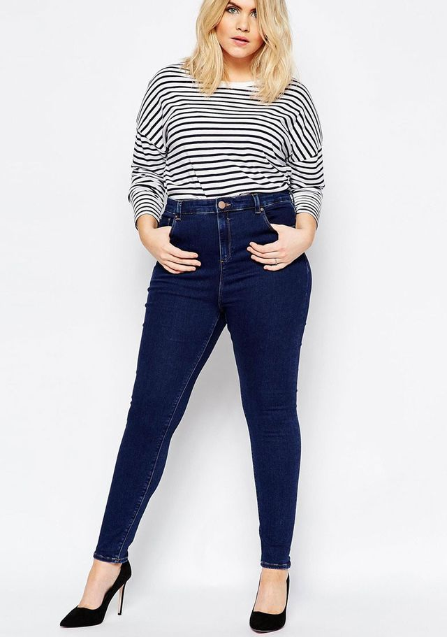 ASOS Curve Ridley Skinny Jeans