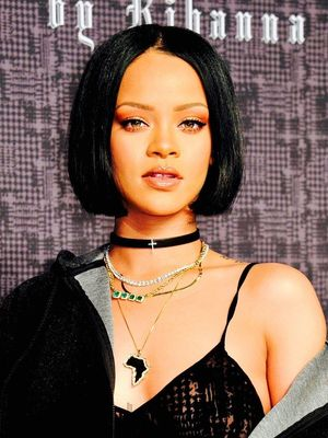 Frozen Hair, Don't Care: Rihanna Painted Models' Hair Stark White for NYFW