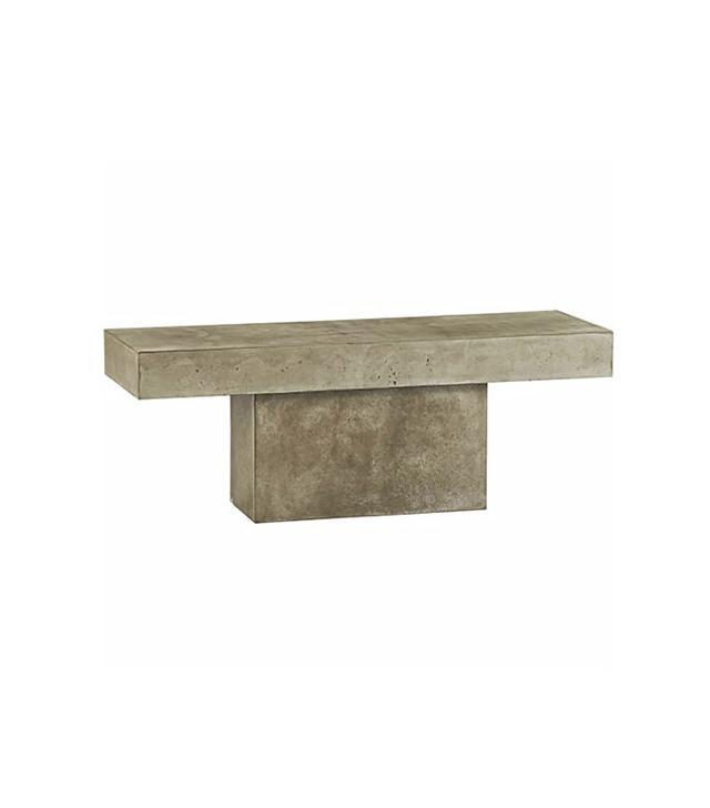 CB2 Fuze Grey Bench