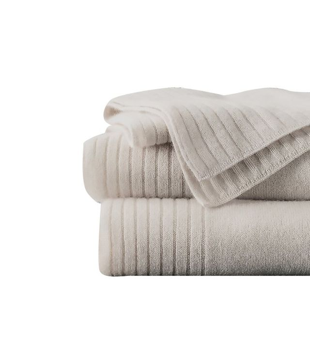 Restoration Harware Luxe Cashmere Oversized Bed Throw