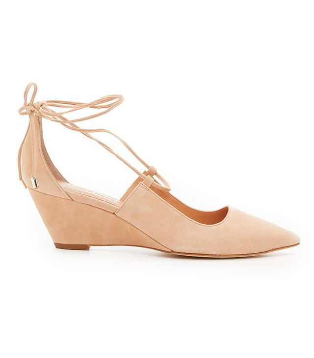 Sigerson Morrison Wynne Wedge Pumps