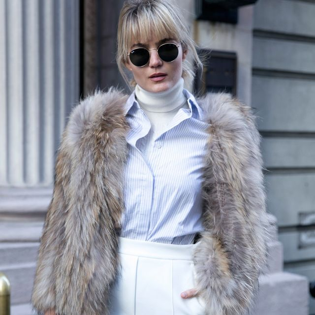 How This Australian Fashion Blogger Dresses For a Freezing NYFW