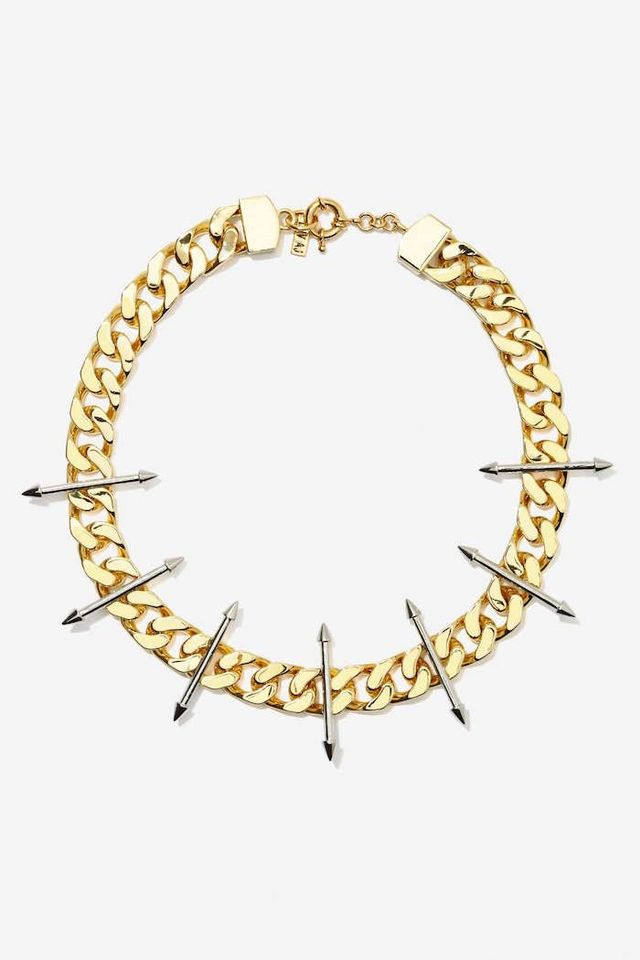 Luv Aj Vertigo Spike Necklace