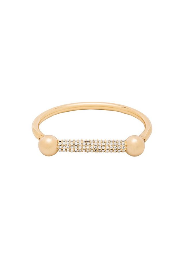 Luv Aj The Pave Barbell Cuff