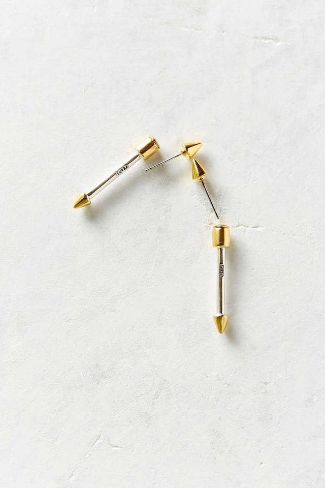 Luv Aj Barbell Cone Earring