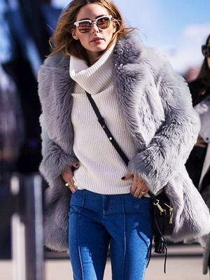 The Jeans Olivia Palermo Wears Every Fashion Week