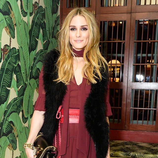 Olivia Palermo's Trick for Looking Taller in a Maxi Dress