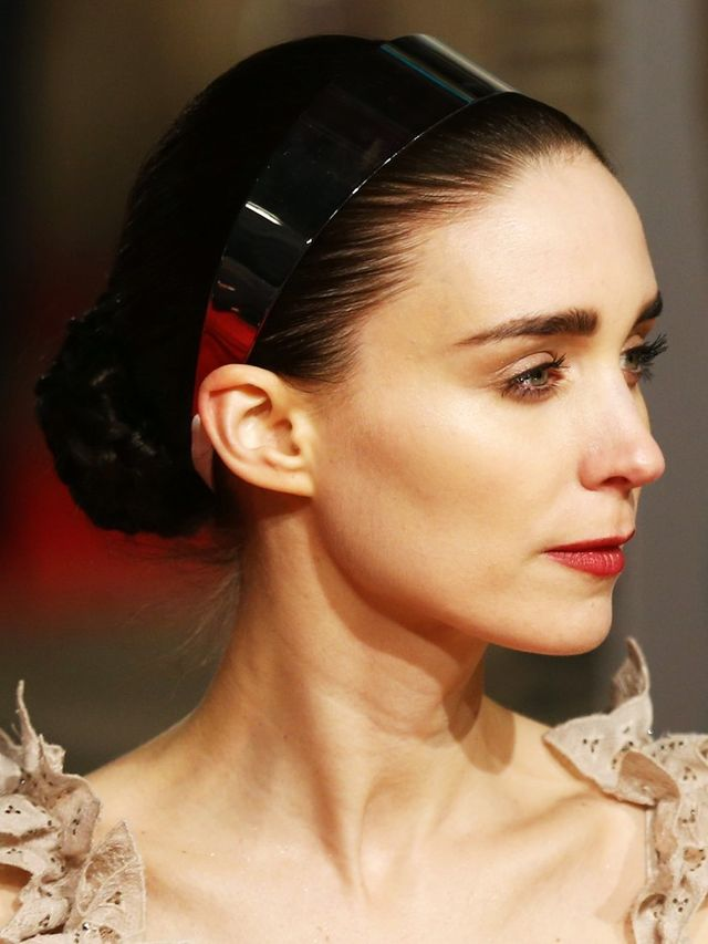 Exclusive: Rooney Mara BAFTAs Hair How-To | Byrdie UK