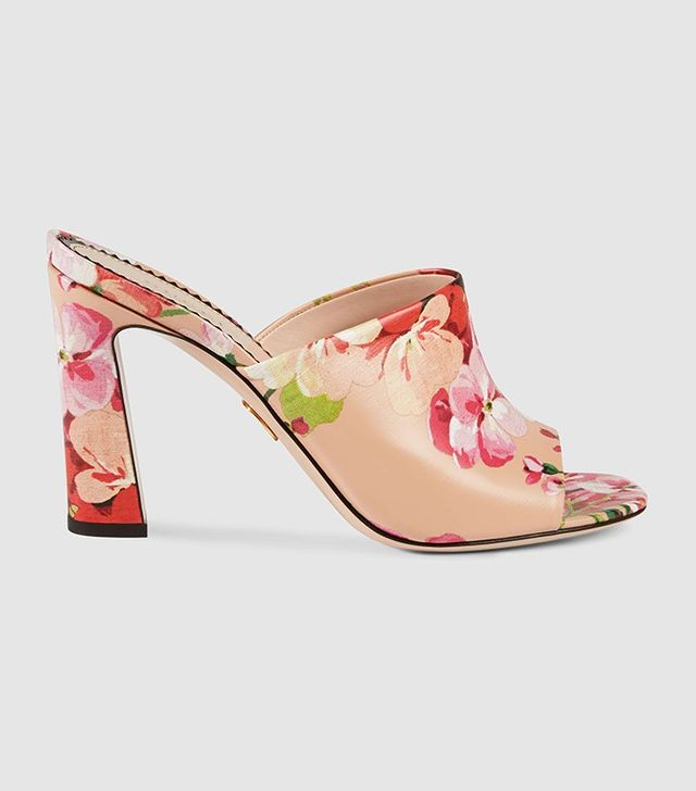 Gucci Blooms Print Sandal