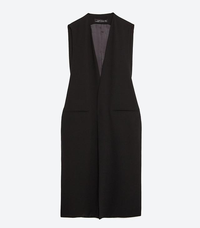 Zara Long Waist Coat
