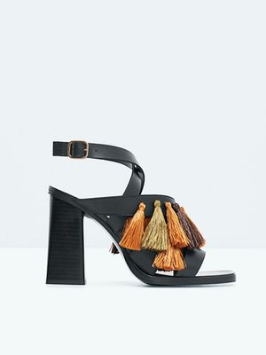 Love, Want, Need: Mango's Amazing Tasseled Sandals