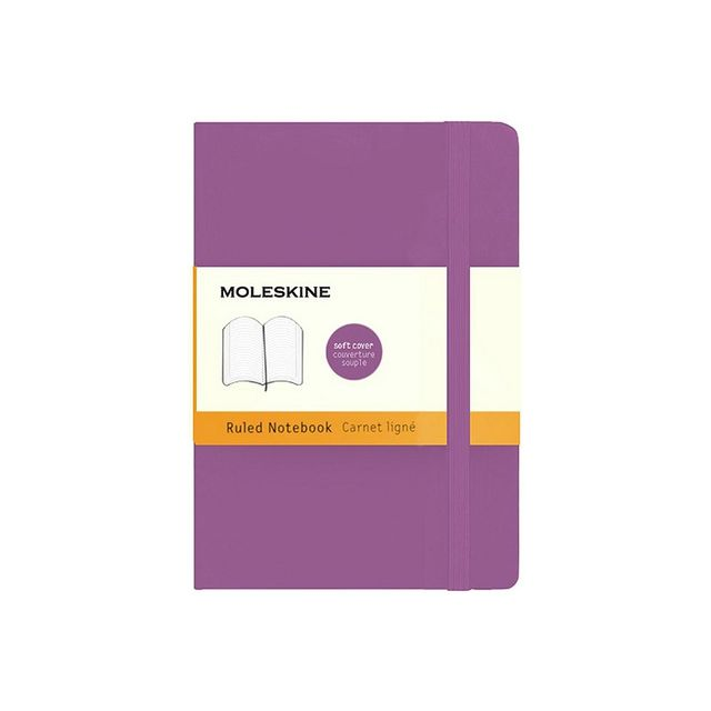 Moleskin Classic Soft Cover Ruled Notebook Pocket
