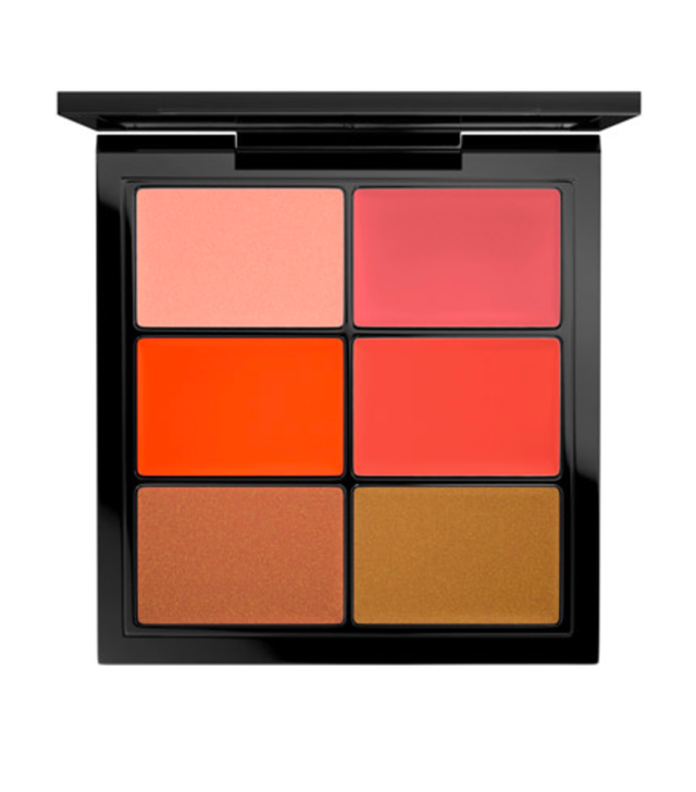 MAC Pro Lip Palette in 6 Editorial Oranges