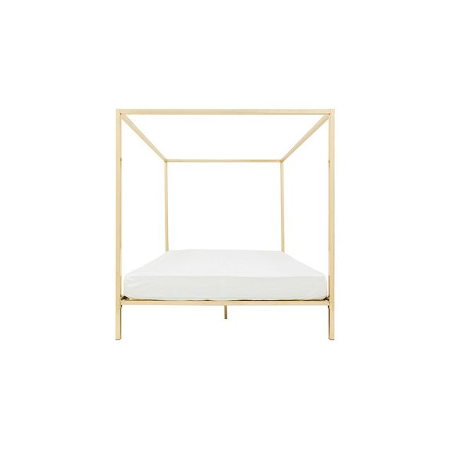Megan Morton for Incy Interiors Four-Poster Rose Gold - King