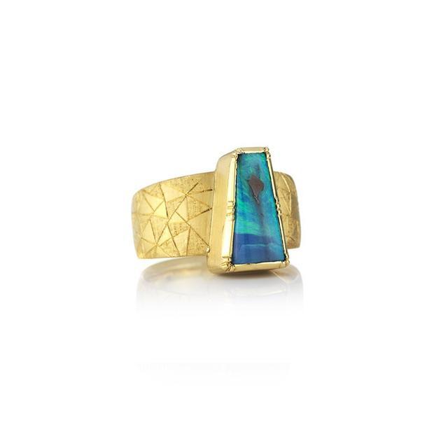 Brooke Gregson Hera Shield Opal Ring