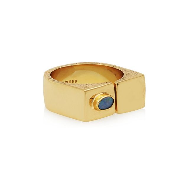 Cornelia Webb Gold-Plated Opal Ring