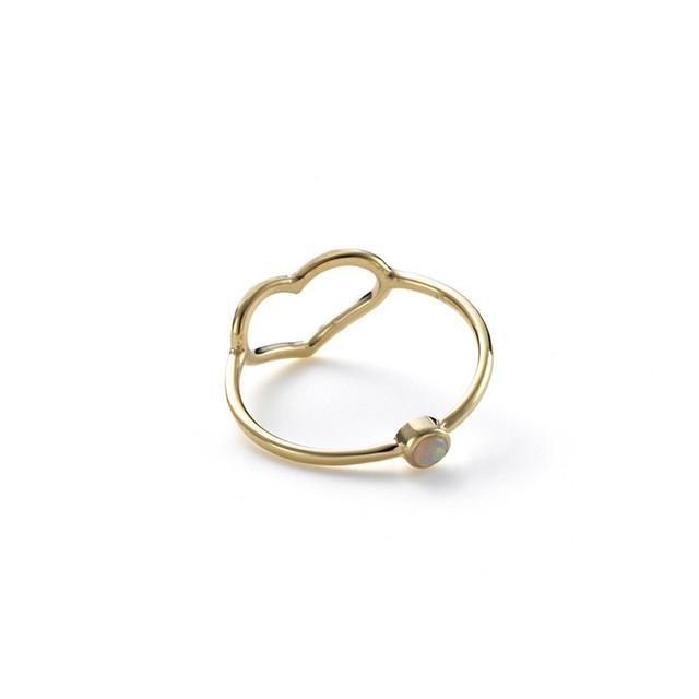 Jordy Askill Birthstone Heart Ring