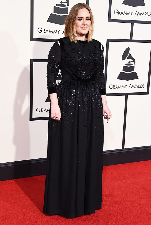 WHO: Adele WHAT: Performer WEAR:Givenchy Haute Couture gown; Ofira jewellery.