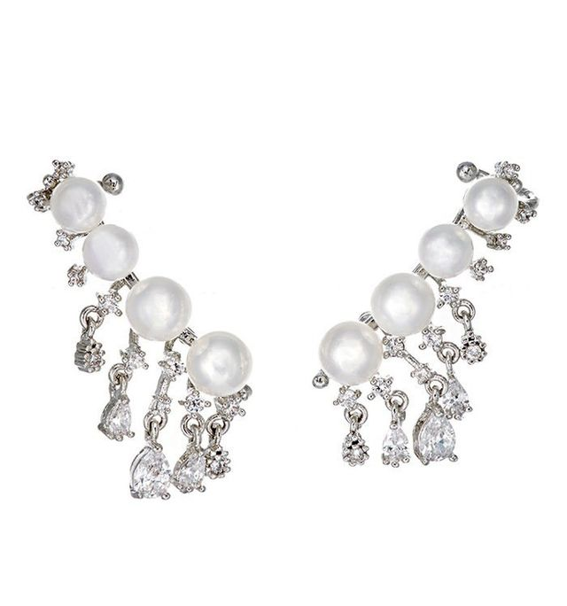 Fallon Monarch Pearl Ear Climber