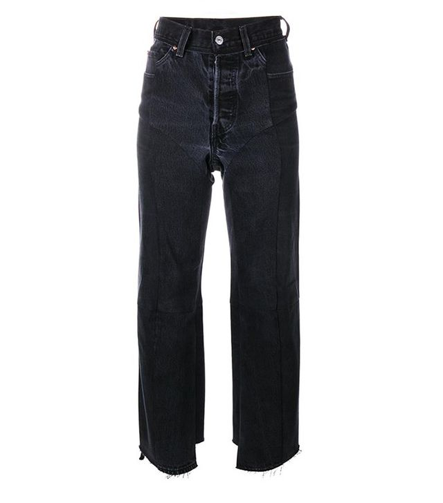 Vetements Straight Leg Biker Jeans