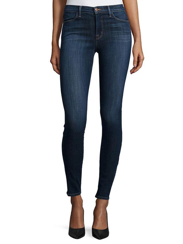 J Brand Oblivion Skinny Maria High-Rise Jeans