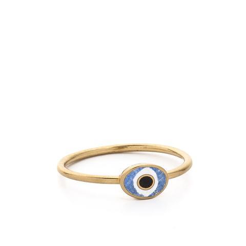 Mini Evil Eye Ring