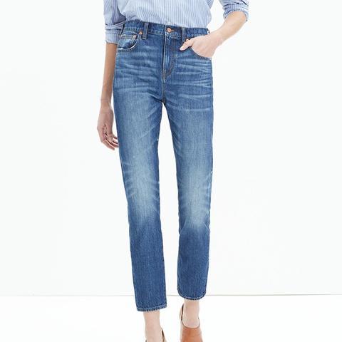 Cruiser Straight Crop Jeans