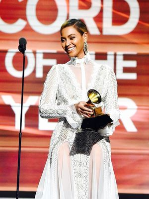 See the Wedding Dress Beyoncé Wore to the Grammys
