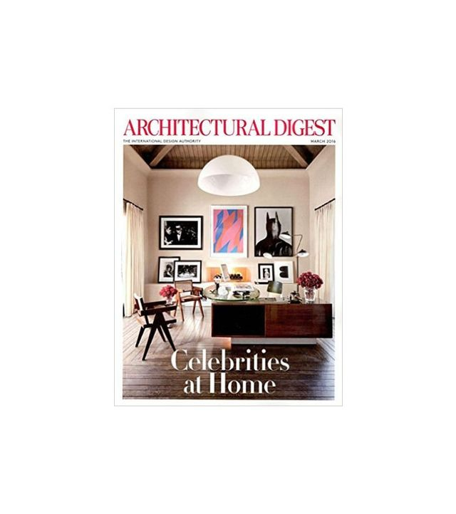 Architectural Digest Celebrities at Home