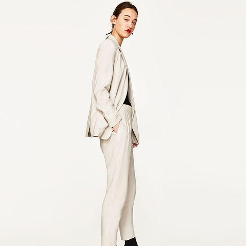 Relaxed Ankle Trousers