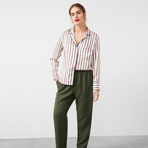 Soft Baggy Trousers
