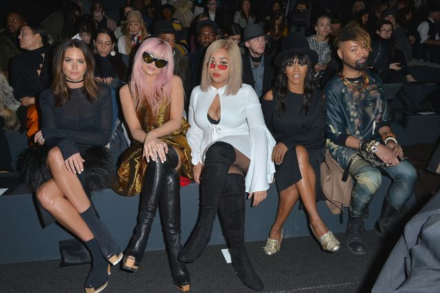 WHO: Jesinta Campbell, Kylie Jenner, Jordyn Woods with friends.