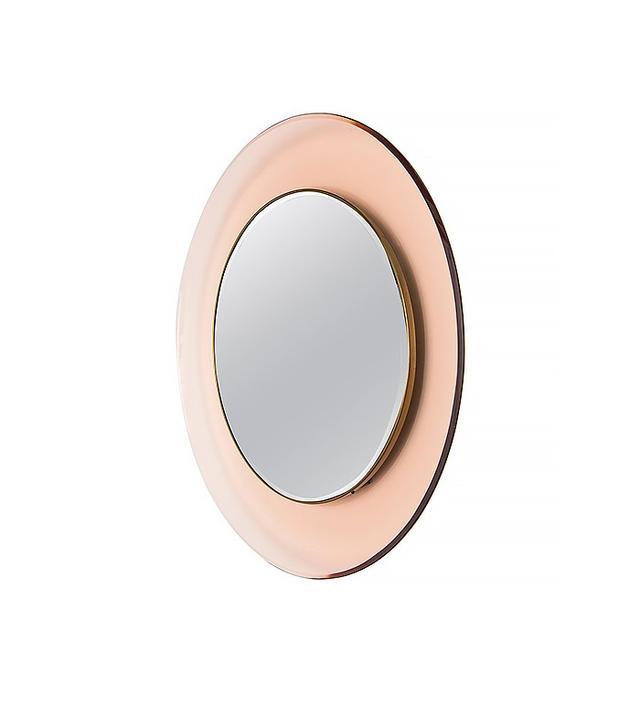 Max Ingrand for Fontana Arte Circular Wall Mirror