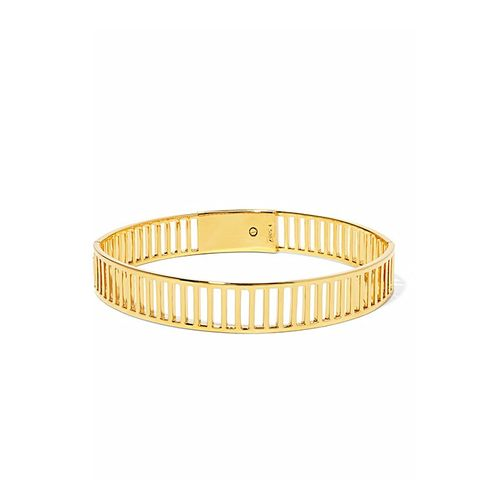Simple Stripe Gold-Plated Choker