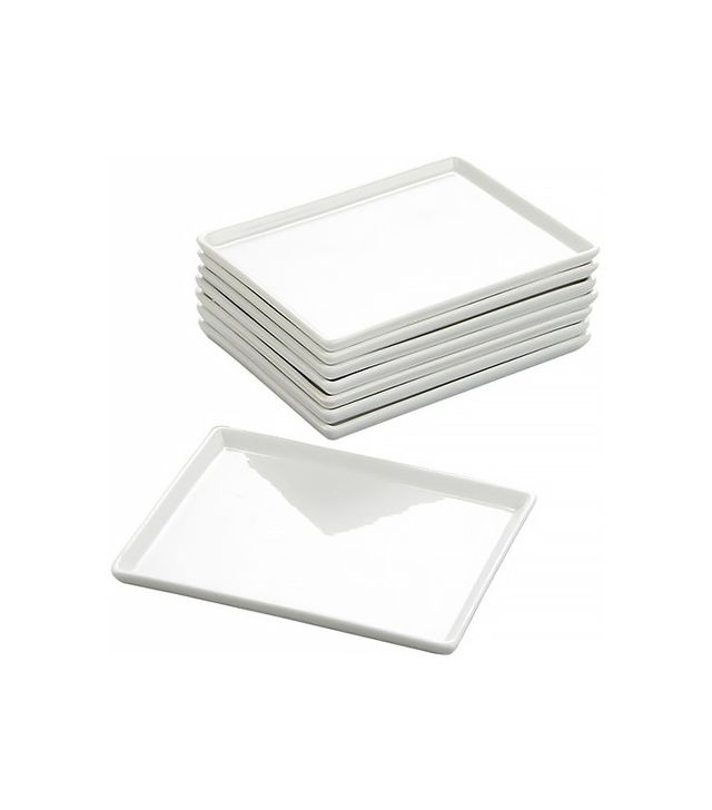 CB2 Cuatro Small Platters, Set of 8