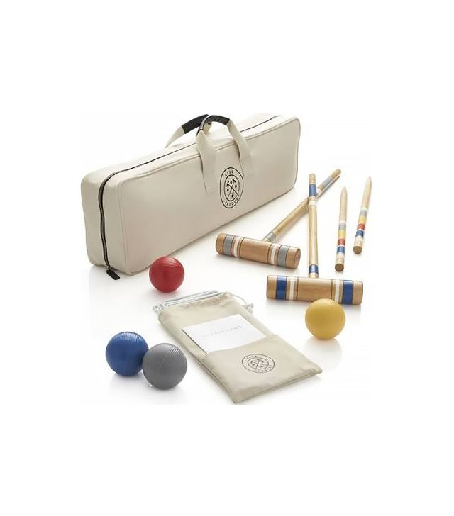 Crate and Barrel Croquet Set