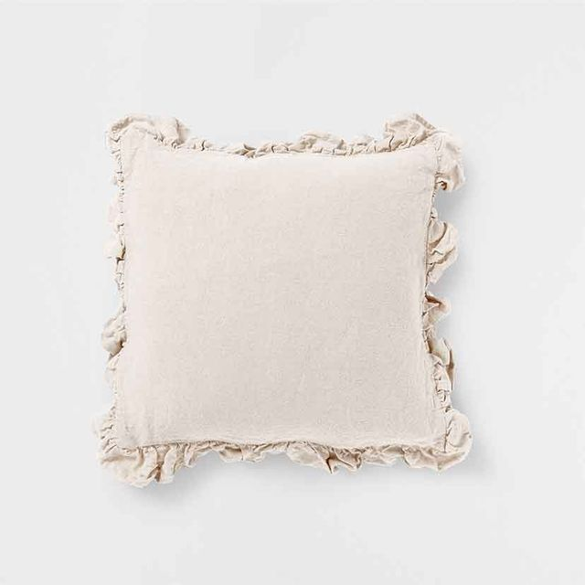 Zara Home Linen Cushion