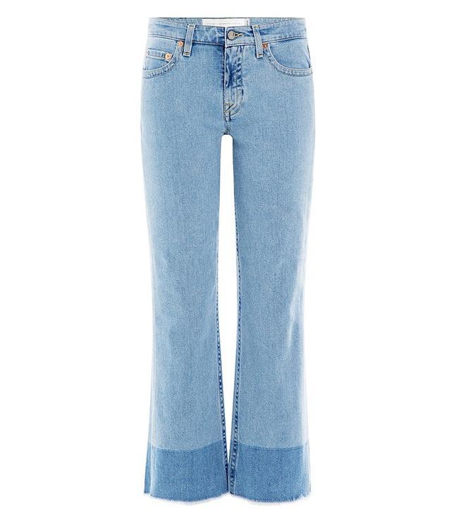 Victoria Beckham Denim Kick Flare Jeans