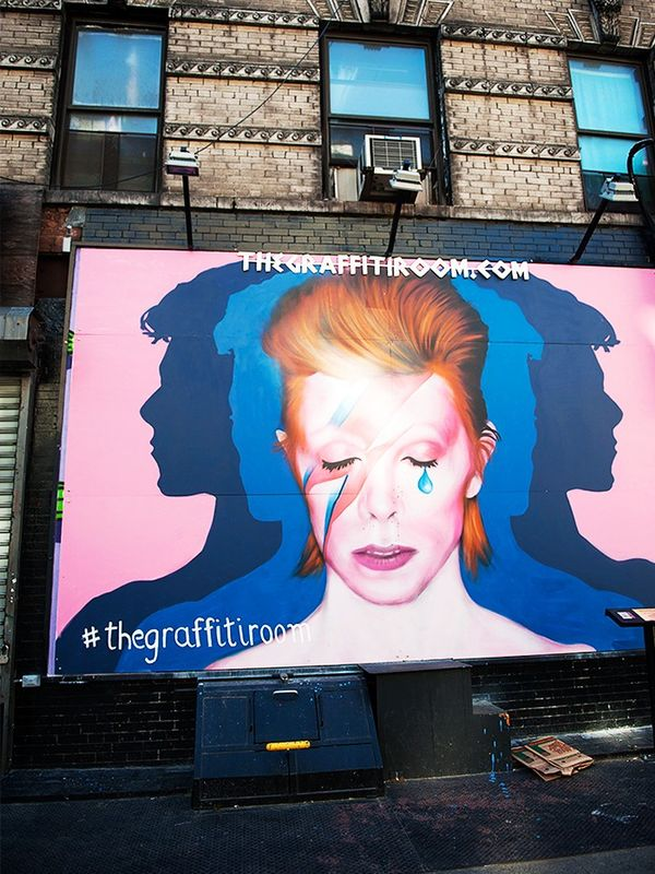 """""""This was some street art I noticed in the Lower East Side. I love LES, because it's edgy, a little bit dirty and you can feel that rock'n'roll vibe."""""""