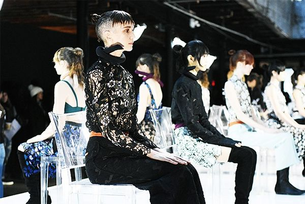 """""""Self Portrait's presentation was beautiful. I find presentations more interesting than shows, you can see the clothes more than just girls walkingalong the runway. You can also come closer..."""