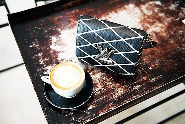 """""""It's coffee time in Greecologieson Broome Street. They have great matcha and traditional greek yoghurt too. Also, the interior of this place is just amazing. I could spend the whole day..."""