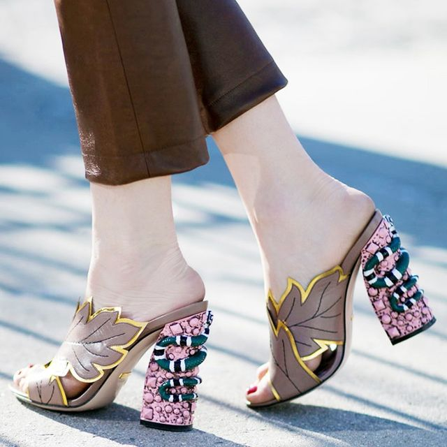 The Most Gorgeous Shoes at New York Fashion Week