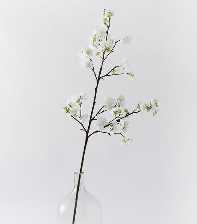 West Elm Faux White Flower Branch