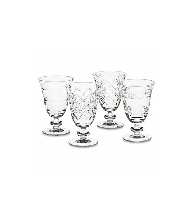 Williams-Sonoma Mixed Cut Goblets (Set of 4)