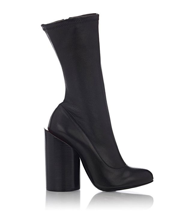 Givenchy Oversized-Heel Leather Boots