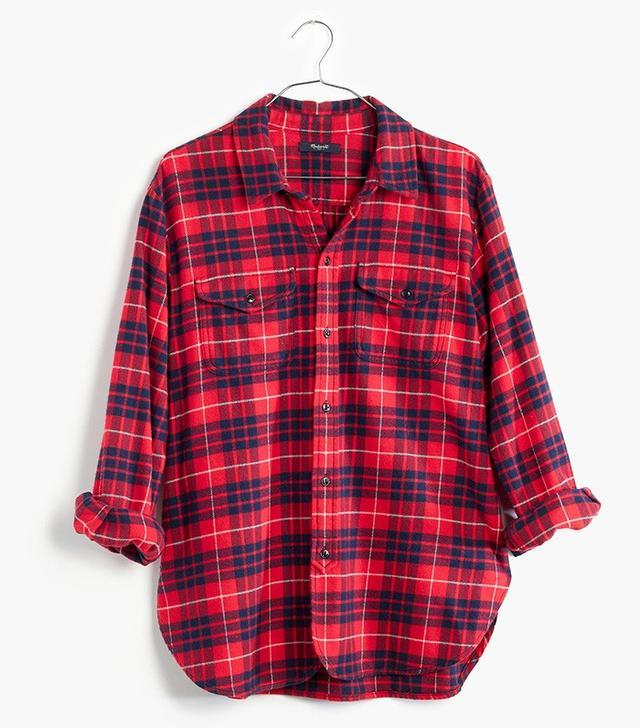 Madewell Flannel Cargo Workshirt